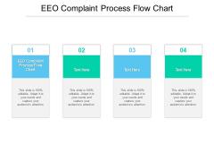EEO Complaint Process Flow Chart Ppt PowerPoint Presentation Outline Cpb Pdf