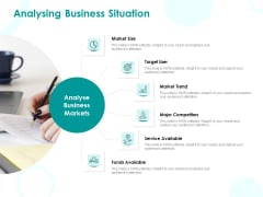 EMM Solution Analysing Business Situation Ppt Slides Graphics Example PDF