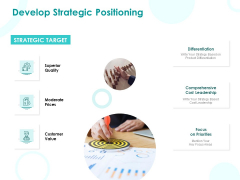EMM Solution Develop Strategic Positioning Ppt Pictures Infographic Template PDF