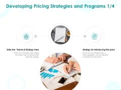 EMM Solution Developing Pricing Strategies And Programs Price Ppt Show Infographics PDF