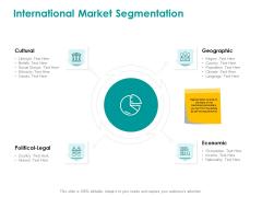 EMM Solution International Market Segmentation Infographics PDF
