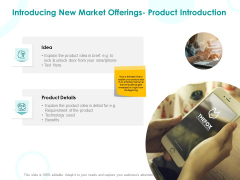 EMM Solution Introducing New Market Offerings Product Introduction Ppt Styles Shapes PDF