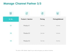 EMM Solution Manage Channel Partner Service Ppt Pictures Example PDF