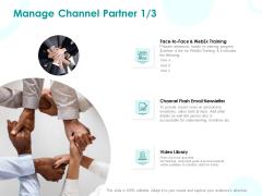 EMM Solution Manage Channel Partner Training Ppt Professional Sample PDF