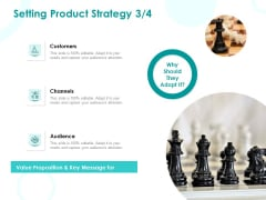 EMM Solution Setting Product Strategy Channels Ppt Infographic Template Structure PDF