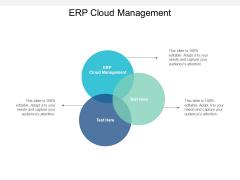 ERP Cloud Management Ppt PowerPoint Presentation Icon Clipart Images