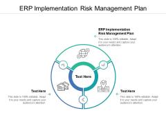 ERP Implementation Risk Management Plan Ppt PowerPoint Presentation Show Structure Cpb