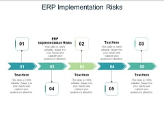 ERP Implementation Risks Ppt PowerPoint Presentation Model Graphic Images Cpb