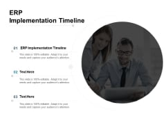 ERP Implementation Timeline Ppt PowerPoint Presentation Professional Design Inspiration Cpb