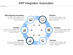 ERP Integration Automation Ppt PowerPoint Presentation Icon Example Cpb