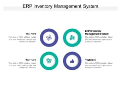 ERP Inventory Management System Ppt PowerPoint Presentation Layouts Gridlines Cpb