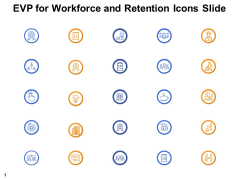 EVP For Workforce And Retention Icons Slide Checklist Ppt PowerPoint Presentation File Graphics Download
