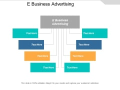 E Business Advertising Ppt PowerPoint Presentation Professional Gridlines Cpb