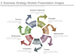 E Business Strategy Models Presentation Images