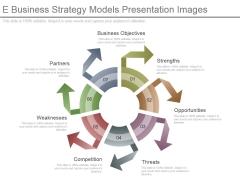 E Business Strategy Models Presentation Images