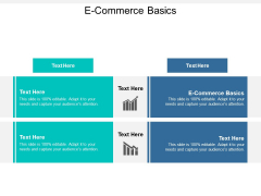 E Commerce Basics Ppt PowerPoint Presentation Design Templates Cpb
