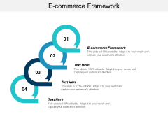 E Commerce Framework Ppt PowerPoint Presentation Summary Objects Cpb