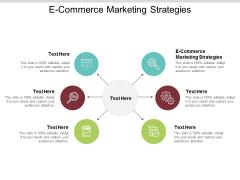 E Commerce Marketing Strategies Ppt PowerPoint Presentation File Ideas Cpb