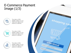 E Commerce Payment Image Technology Ppt PowerPoint Presentation Model Display
