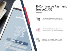 E Commerce Payment Image Technology Ppt PowerPoint Presentation Model Ideas