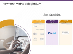 E Commerce Payment Methodologies Payments Ppt PowerPoint Presentation Layouts Vector PDF