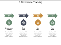 E Commerce Tracking Ppt PowerPoint Presentation Slides Cpb