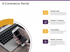 E Commerce Trends Ppt PowerPoint Presentation Inspiration Design Inspiration PDF