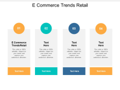 E Commerce Trends Retail Ppt PowerPoint Presentation Styles Layouts Cpb