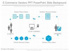 E Commerce Vendors Ppt Powerpoint Slide Background