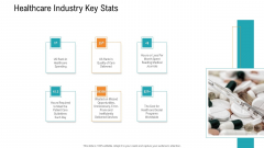 E Healthcare Management System Healthcare Industry Key Stats Brochure PDF