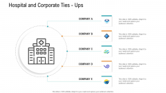 E Healthcare Management System Hospital And Corporate Ties Ups Ppt Styles Background PDF