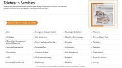 E Healthcare Strategic Development And Approach Telehealth Services Background PDF