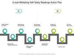 E Mail Marketing Half Yearly Roadmap Action Plan Ideas
