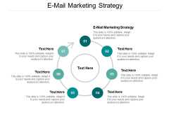 E Mail Marketing Strategy Ppt PowerPoint Presentation Professional Deck Cpb