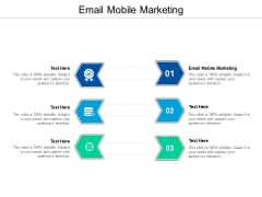 E Mail Mobile Marketing Ppt PowerPoint Presentation Model Images Cpb