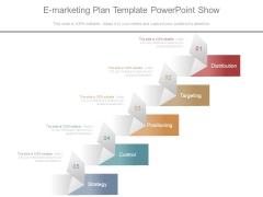 E Marketing Plan Template Powerpoint Show