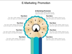 E Marketing Promotion Ppt PowerPoint Presentation File Tips Cpb