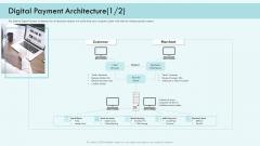 E Payment Transaction System Digital Payment Architecture Systems Ppt Slides Format PDF