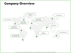 Eco Friendly And Feasibility Management Company Overview Infographics PDF