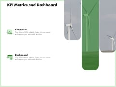 Eco Friendly And Feasibility Management KPI Metrics And Dashboard Icons PDF