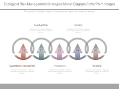 Ecological Risk Management Strategies Model Diagram Powerpoint Images