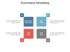 Ecommerce Advertising Ppt PowerPoint Presentation Professional Portfolio Cpb