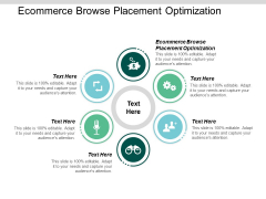 Ecommerce Browse Placement Optimization Ppt PowerPoint Presentation Show Files Cpb