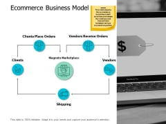 Ecommerce Business Model Business Ppt Powerpoint Presentation Pictures Gallery
