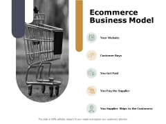 Ecommerce Business Model Storage Ppt PowerPoint Presentation Inspiration Mockup