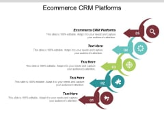Ecommerce CRM Platforms Ppt PowerPoint Presentation Icon Display Cpb