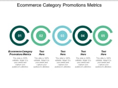 Ecommerce Category Promotions Metrics Ppt PowerPoint Presentation Icon Clipart Cpb