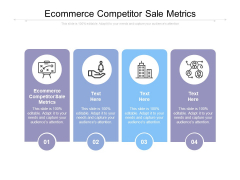 Ecommerce Competitor Sale Metrics Ppt PowerPoint Presentation Icon Slide Cpb