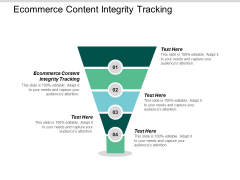 Ecommerce Content Integrity Tracking Ppt PowerPoint Presentation Professional Introduction Cpb