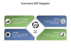 Ecommerce ERP Integration Ppt PowerPoint Presentation Pictures Visuals Cpb Pdf
